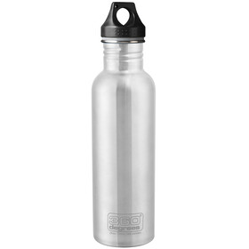 360° degrees Stainless Bottle 750ml grey